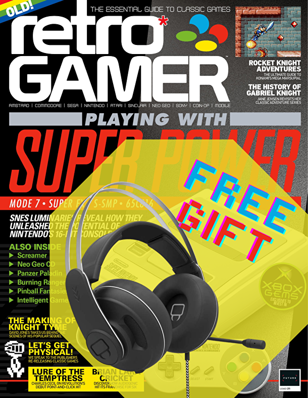 Retro Gamer subscription with FREE headset