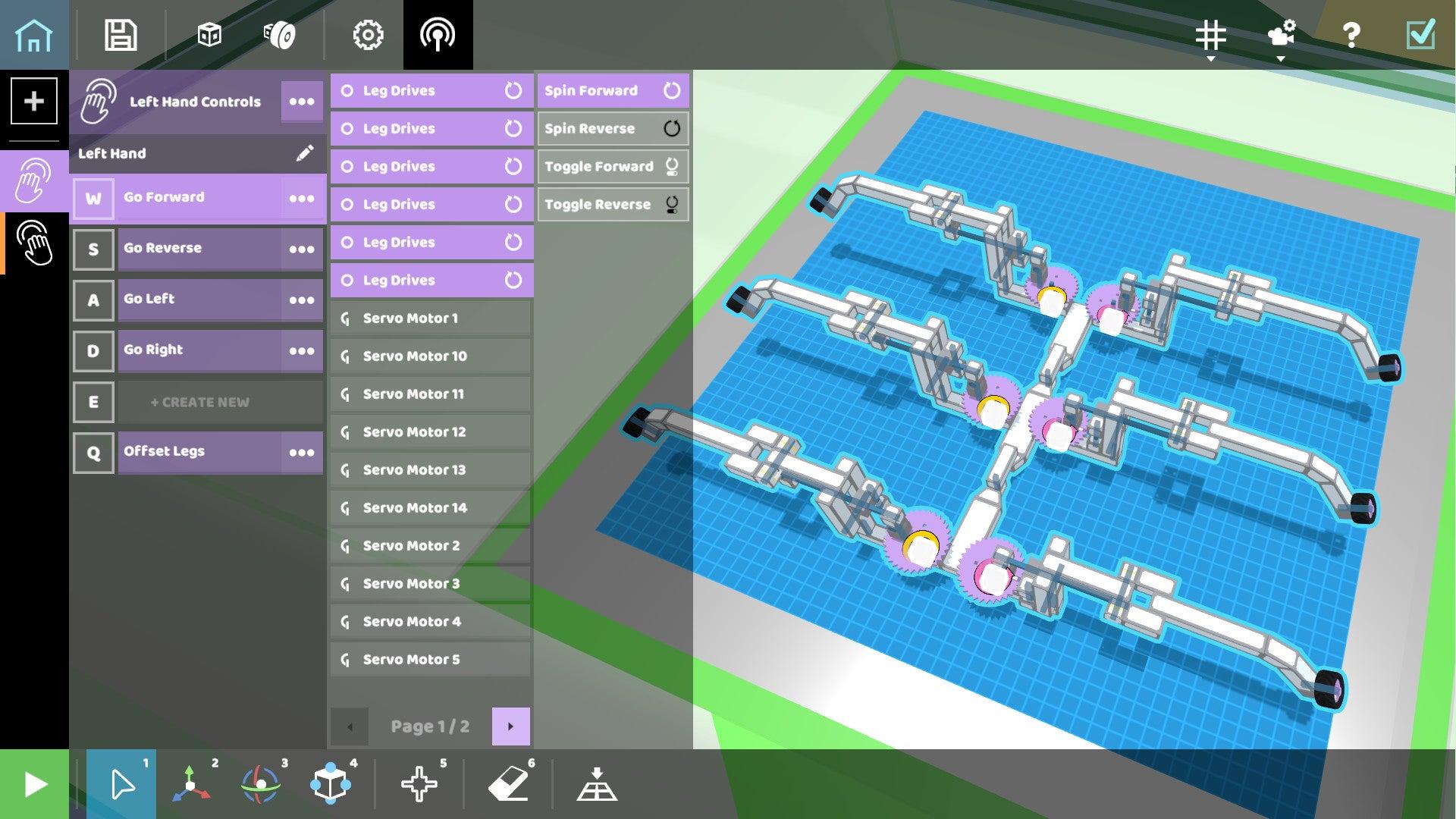 Screenshot of RoboCo