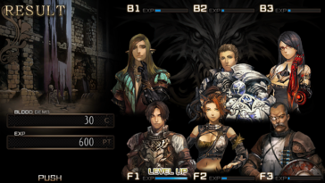 Screenshot of Saviors of Sapphire Wings / Stranger of Sword City Revisited