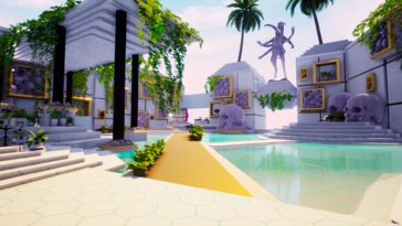 Screenshot of Paradise Killer