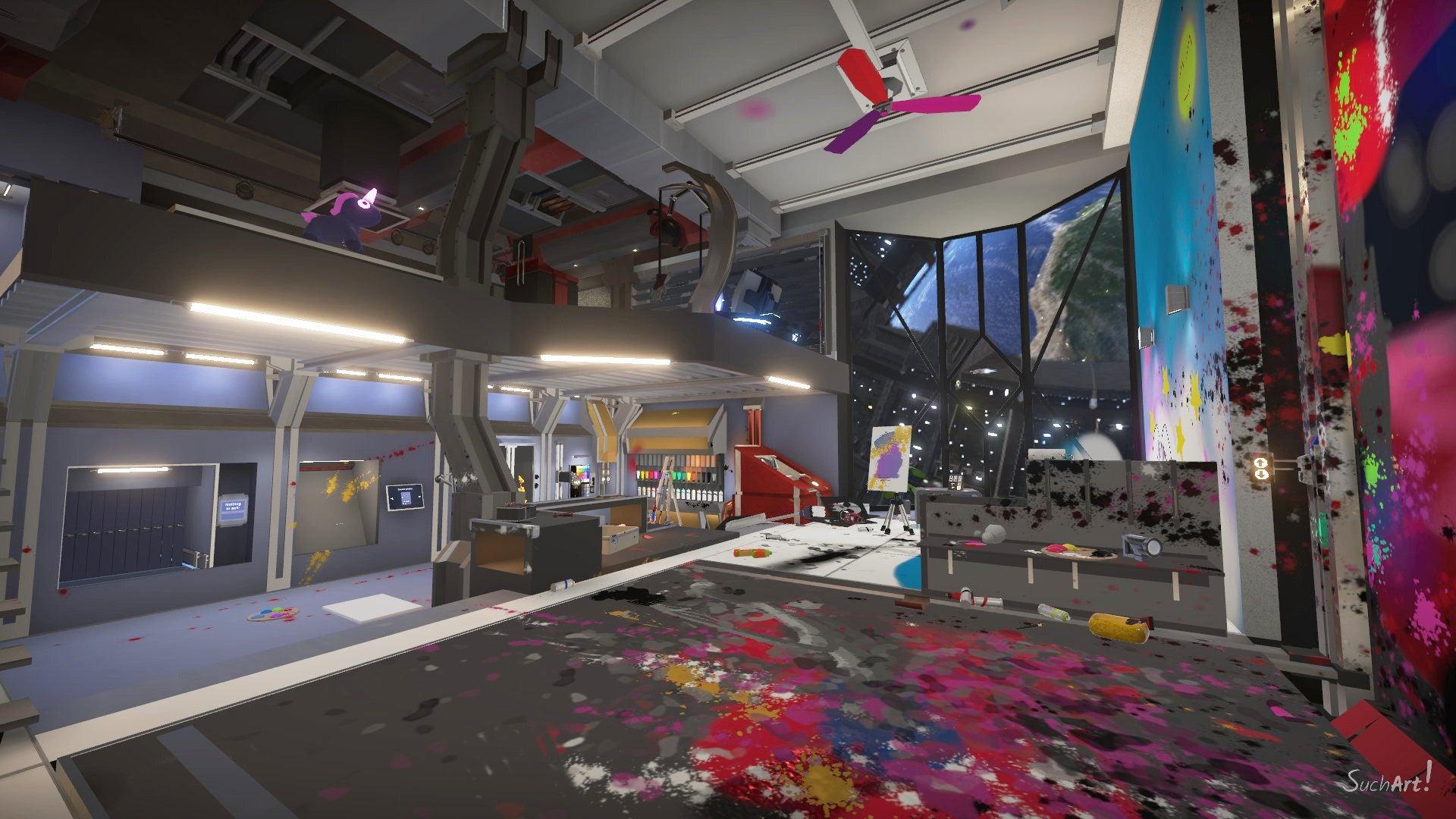 Screenshot of Suchart: Genius Painter Simulator