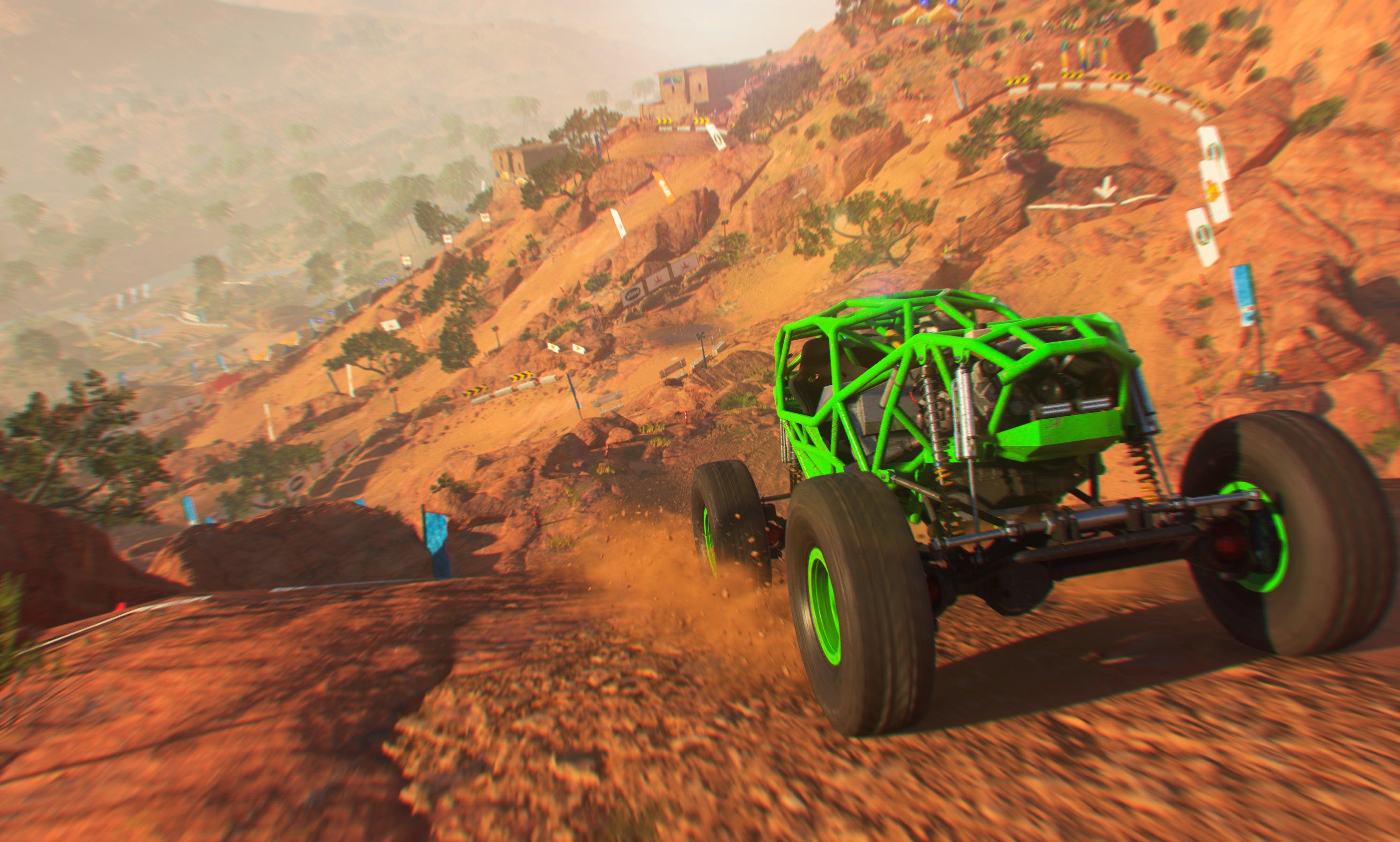 Screenshot of DIRT 5