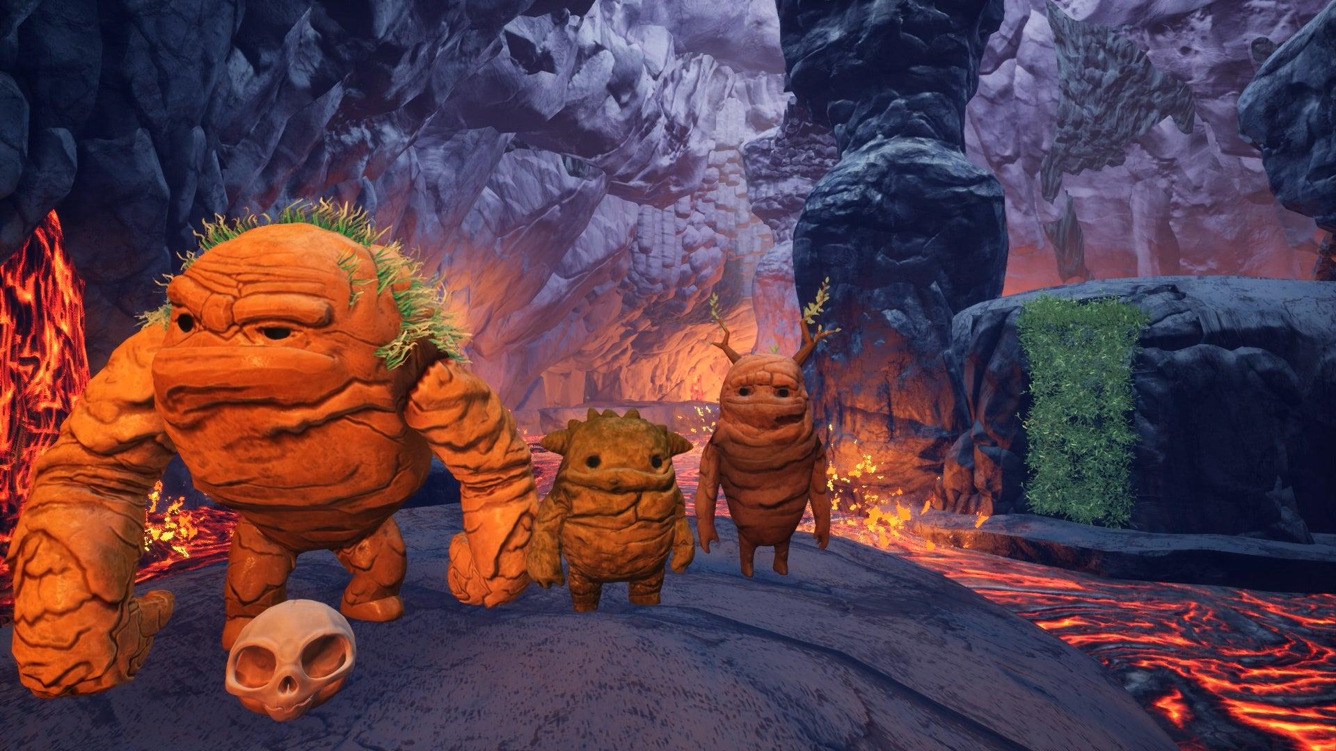 Screenshot of Skully