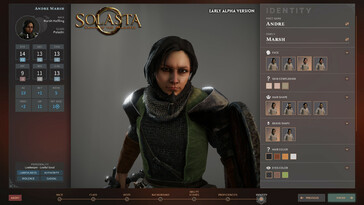 Screenshot of Solasta: Crown of the Magister