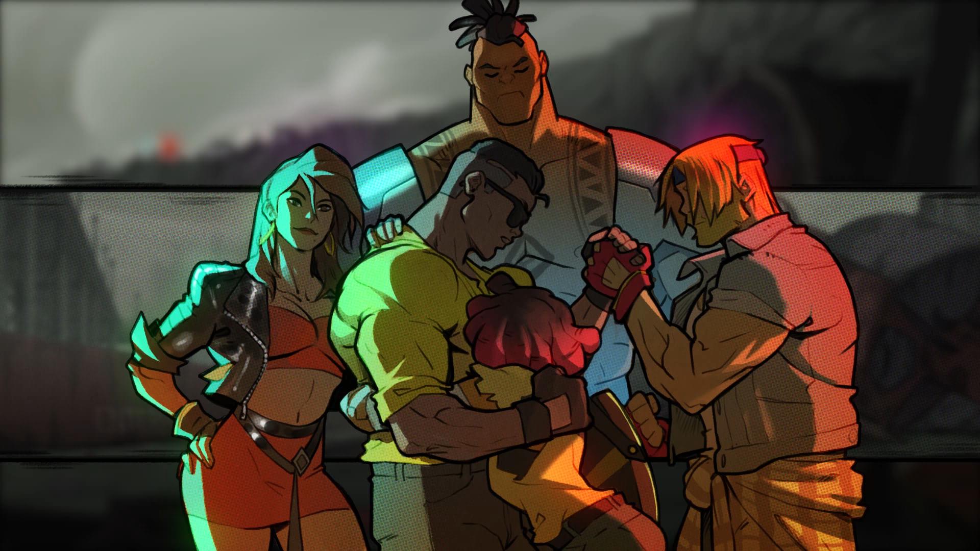 Screenshot of Streets Of Rage 4