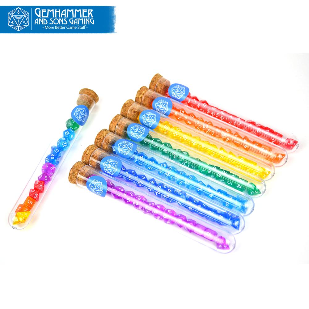 Terrific Technicolor Test Tubes