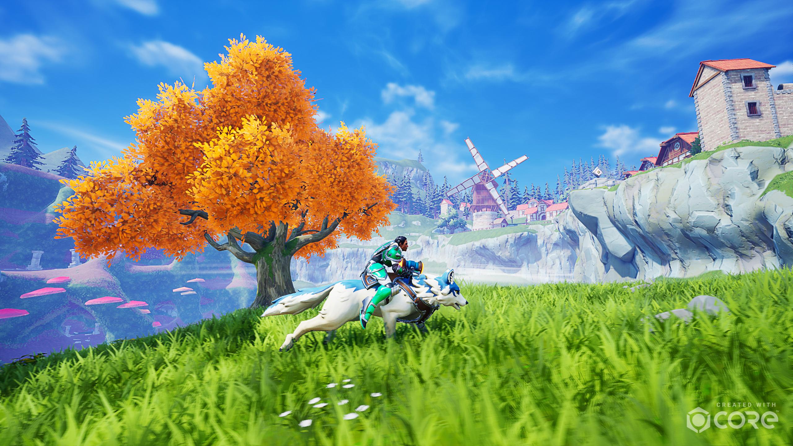 Screenshot of Core Game Platform