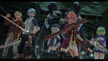 Screenshot of The Legend of Heroes: Trails of Cold Steel IV