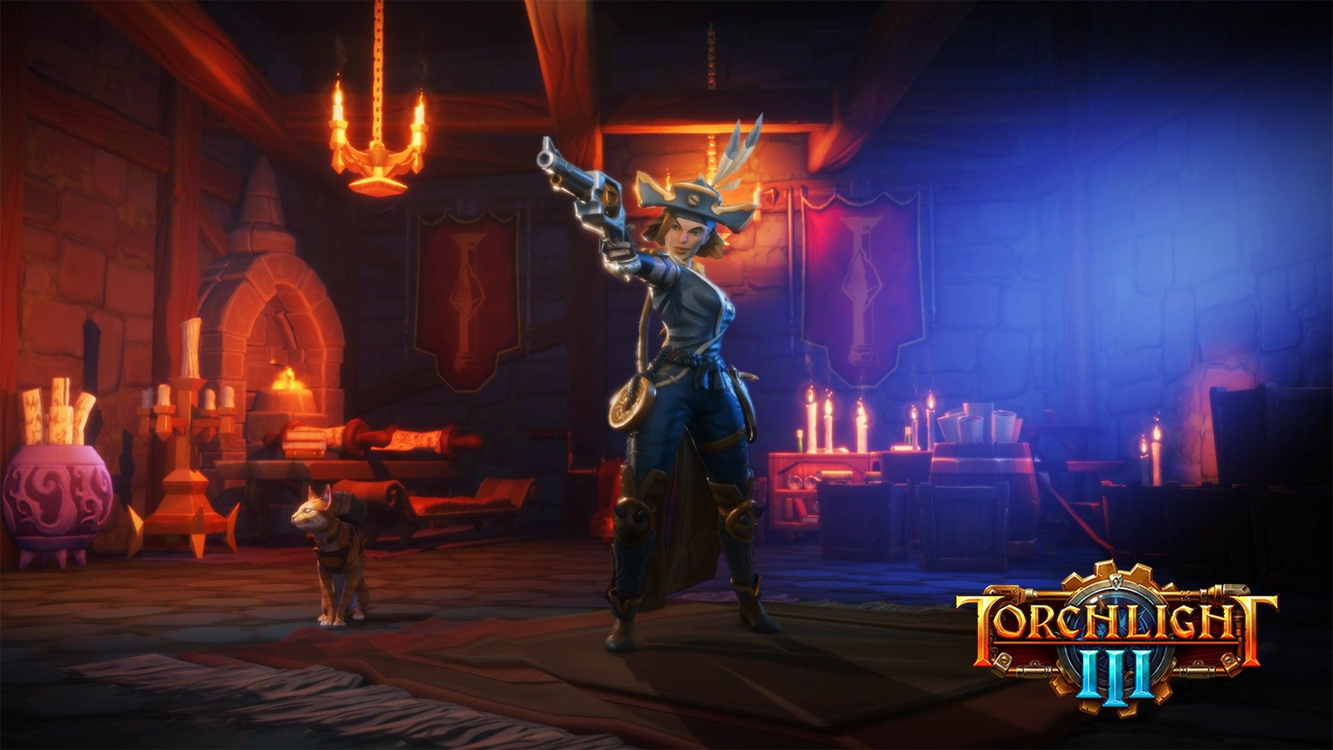 Screenshot of Torchlight III.