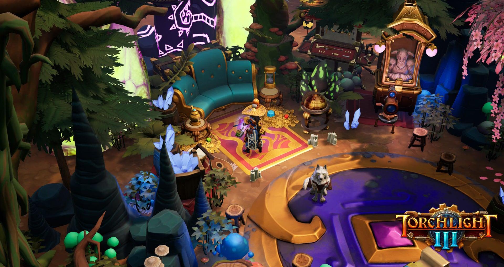 Screenshot of Torchlight III