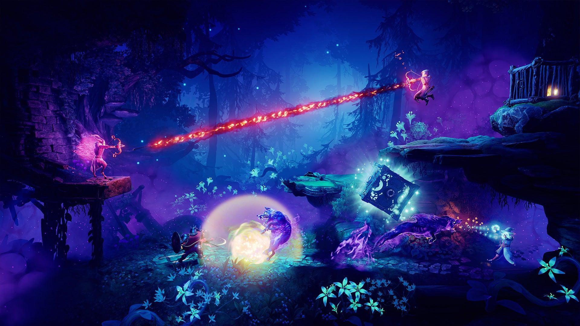 Screenshot of Trine 4: The Nightmare Prince