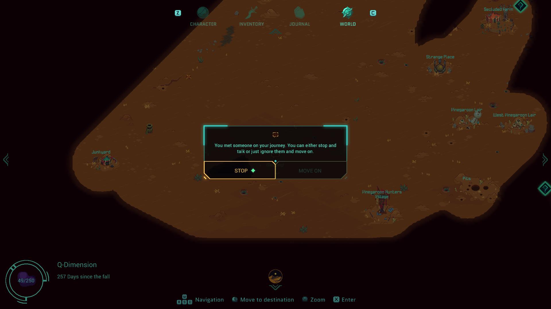 Screenshot of Undungeon
