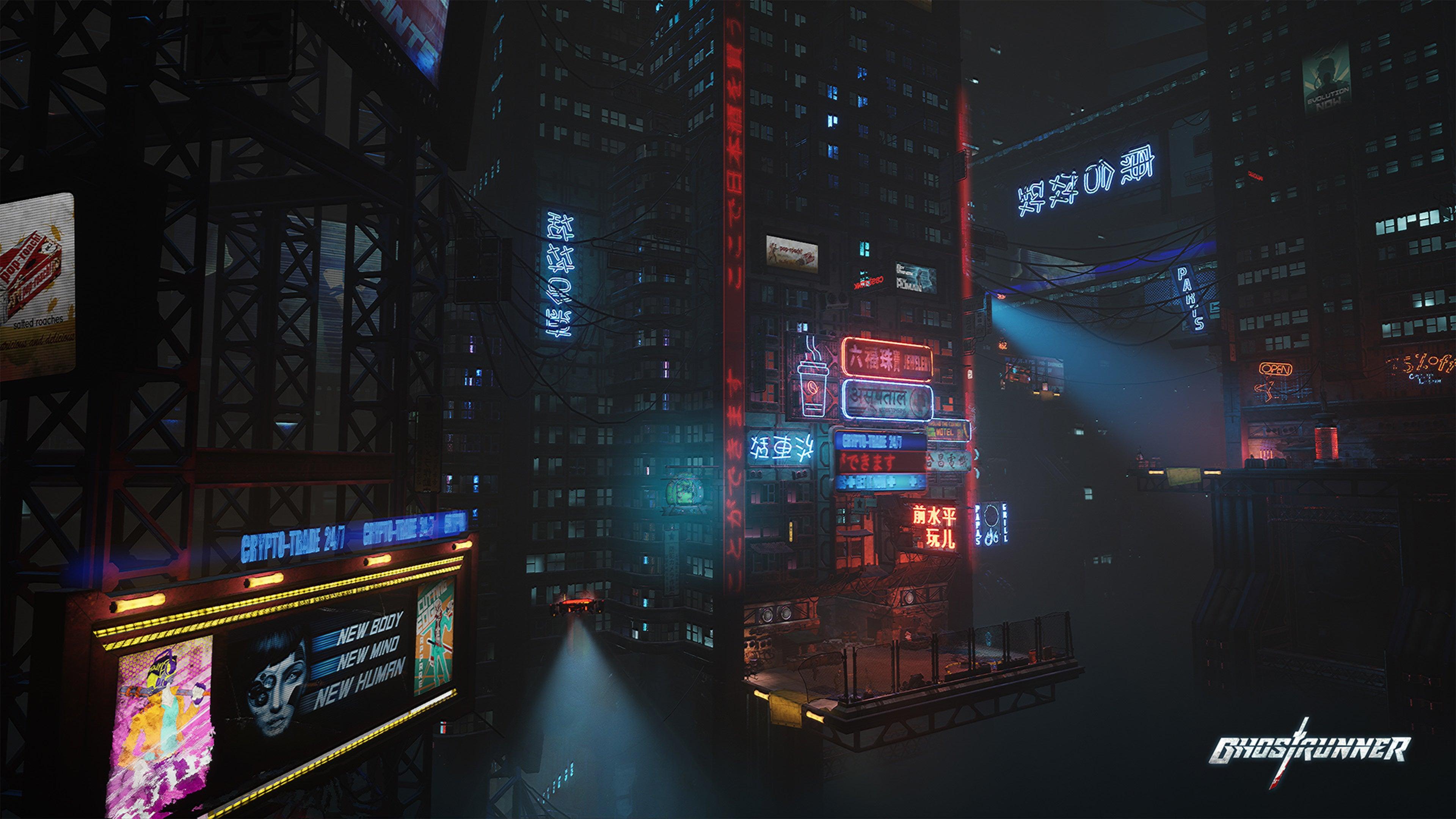 Screenshot of Ghostrunner