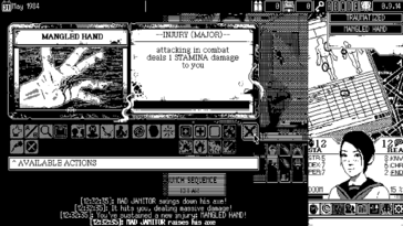 Screenshot of WORLD OF HORROR