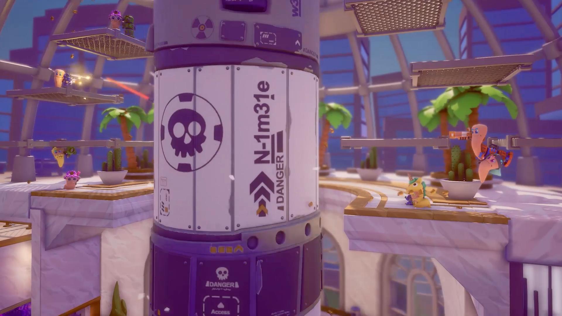 Screenshot of Worms Rumble