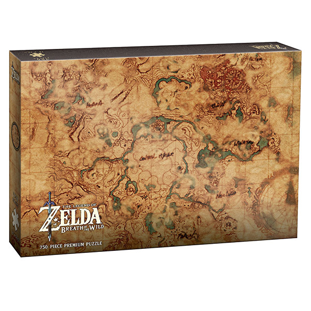 "The Legend of Zelda ""Hyrule Map"" Collector's 550 Piece Puzzle"