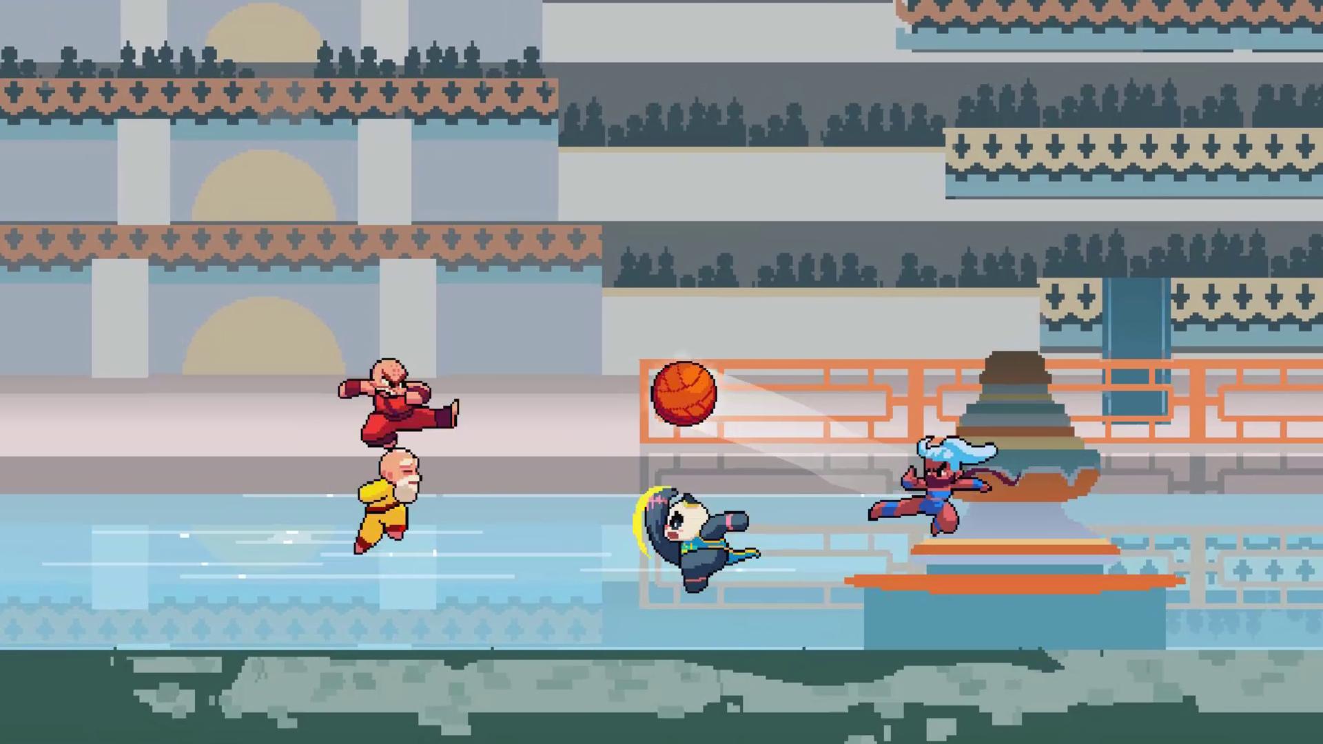 Screenshot of KungFu Kickball