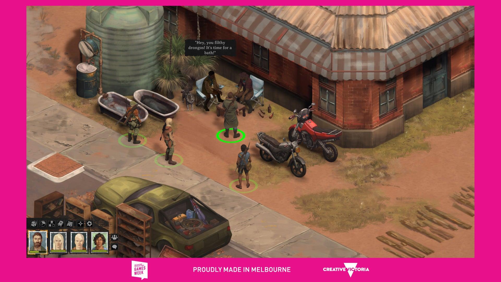 Screenshot of Broken Roads