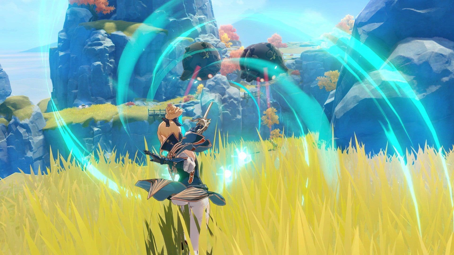 Screenshot of Genshin Impact