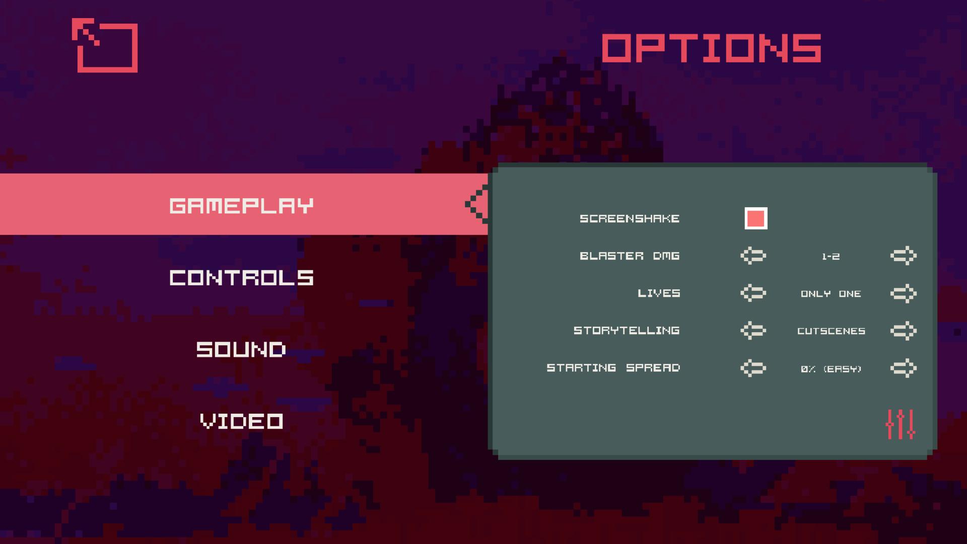 Screenshot of MENU NEW GAME+