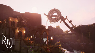 Screenshot of Raji: An Ancient Epic