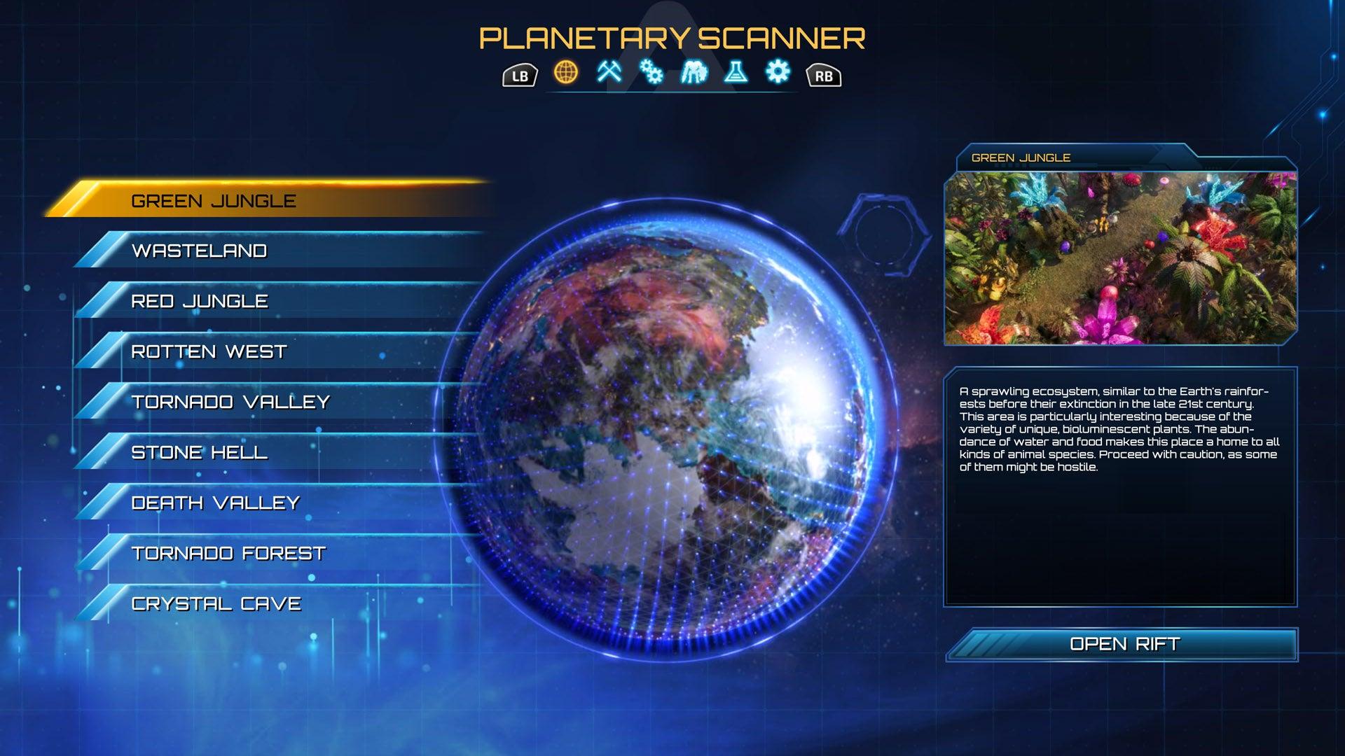 Screenshot of The Riftbreaker