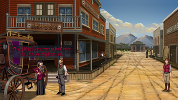 Screenshot of Rosewater