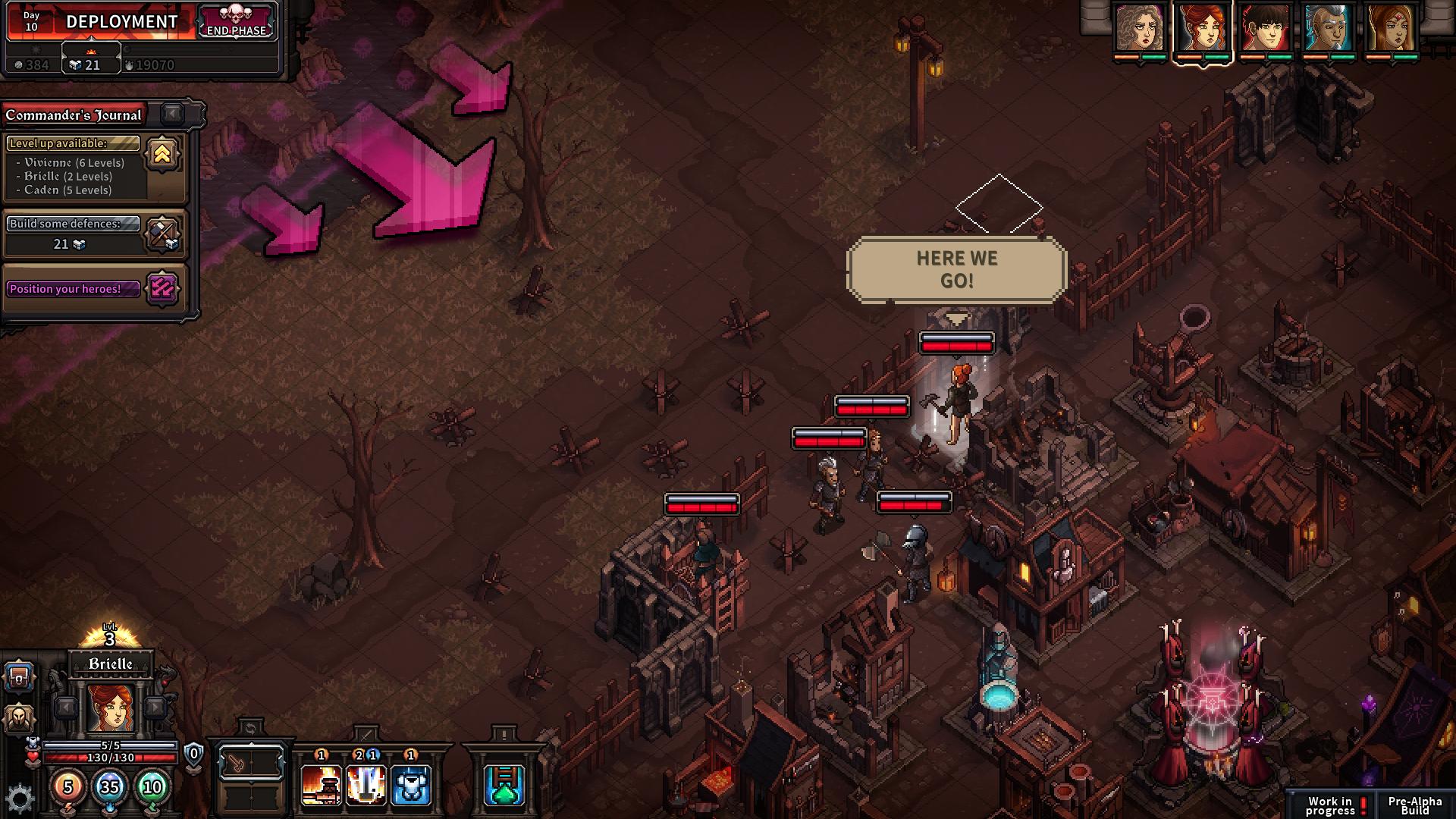 Screenshot of The Last Spell