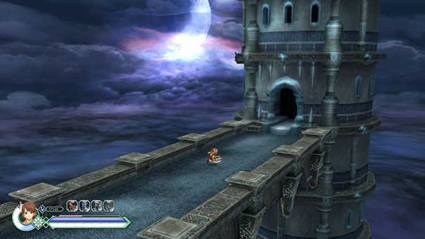 Screenshot of Ys Origin.
