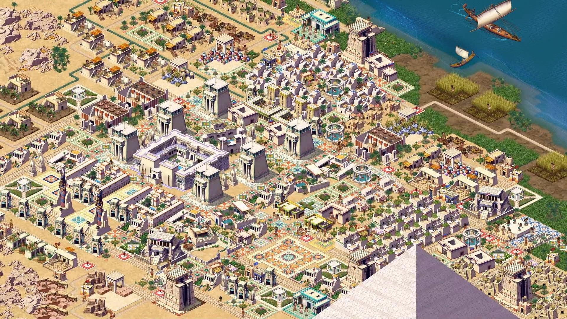 Screenshot of Pharaoh: A New Era