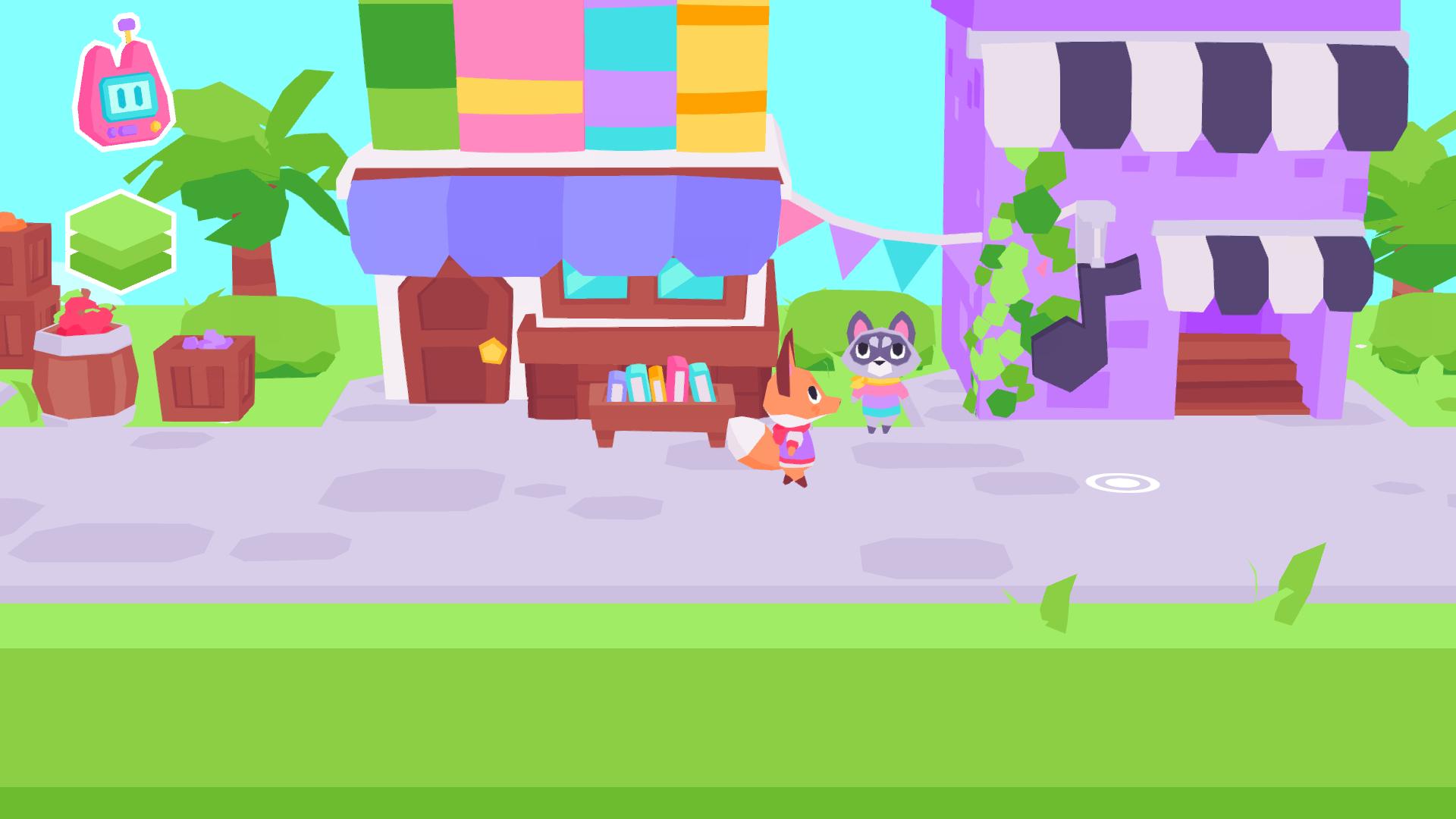 Screenshot of Button City