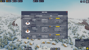Screenshot of Snowtopia