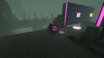Screenshot of The Last Cube
